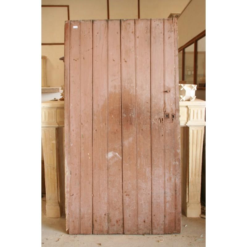 Porte en bois et fer forg labrouche antiquaire de mat riaux for Porte french to english