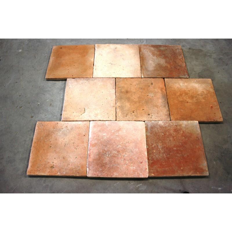 Carrelage ancien 33 x 33 labrouche antiquaire de mat riaux for Carrelage ancien terre cuite