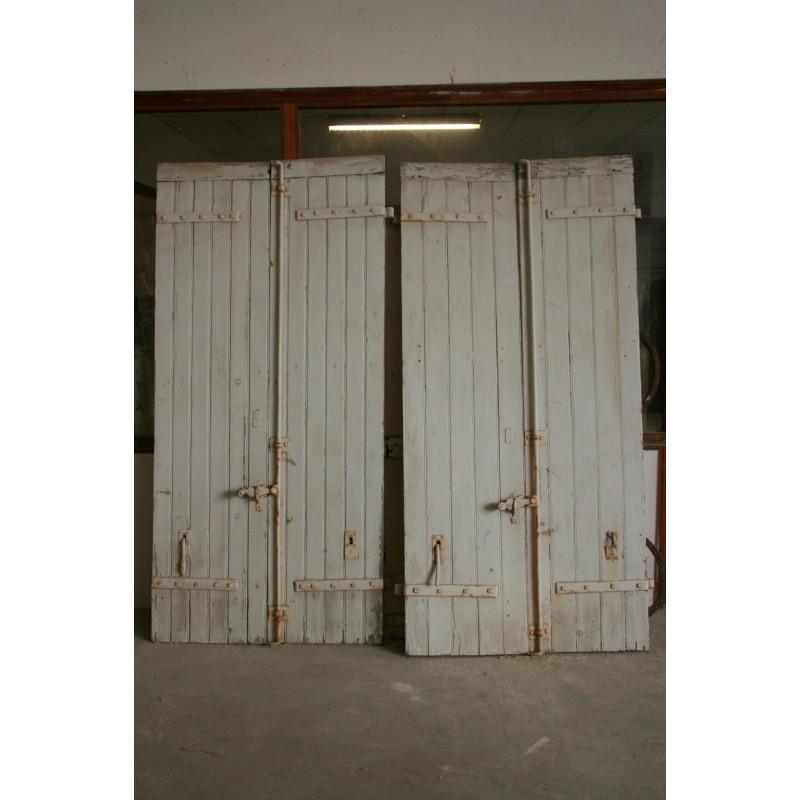volet en bois labrouche antiquaire de mat 233 riaux