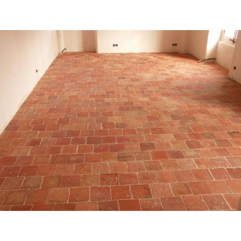 Carrelage en terre cuite labrouche antiquaire de mat riaux for Carrelage terre cuite