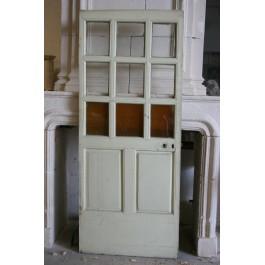 Glass doors 2 labrouche antiquaire de mat riaux for Porte vitree interieur petit carreaux