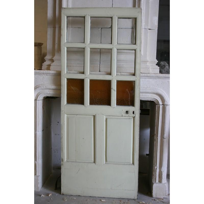 Porte petits carreaux labrouche antiquaire de mat riaux for Porte a petit carreaux