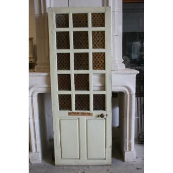 Porte vitr e petits carreaux labrouche antiquaire de - Porte interieur a petit carreaux ...