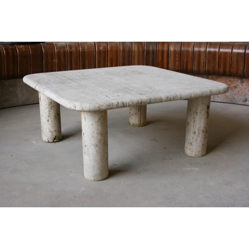 table basse en travertin labrouche antiquaire de mat riaux. Black Bedroom Furniture Sets. Home Design Ideas
