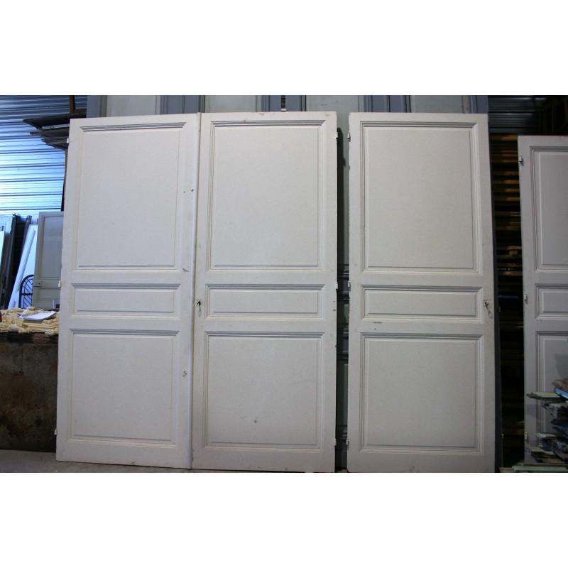 grand placard 3 portes labrouche antiquaire de mat riaux. Black Bedroom Furniture Sets. Home Design Ideas