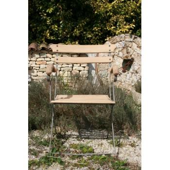 6 fauteuils de jardin