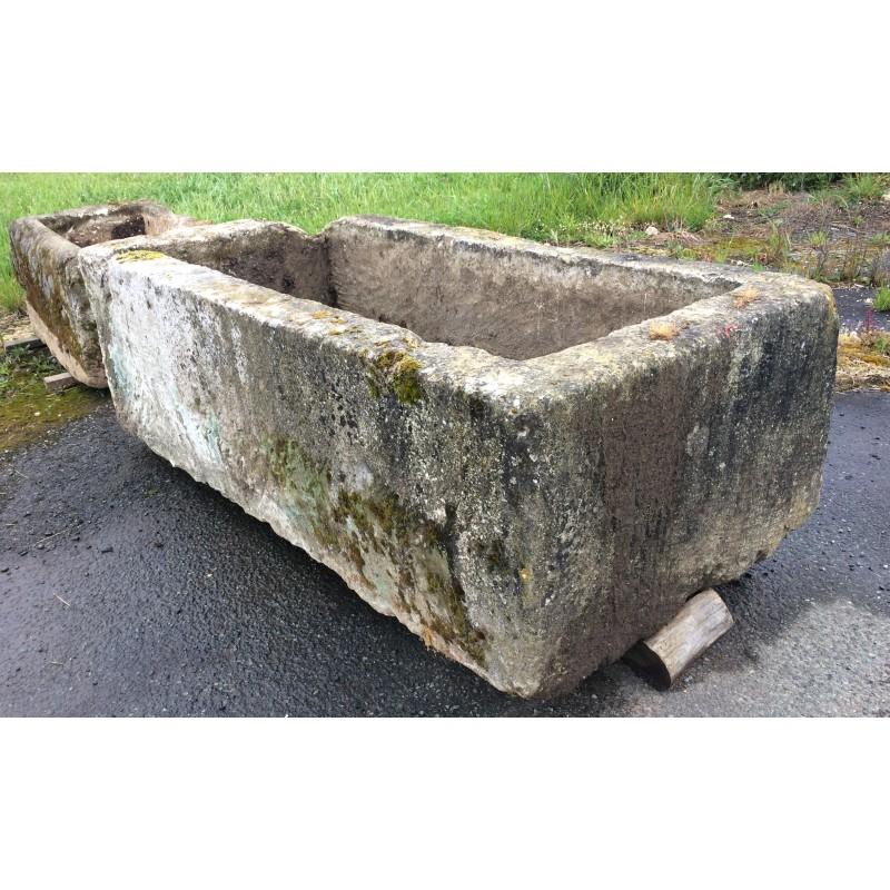 Grand bac en pierre labrouche antiquaire de mat riaux for Bac pierre jardin