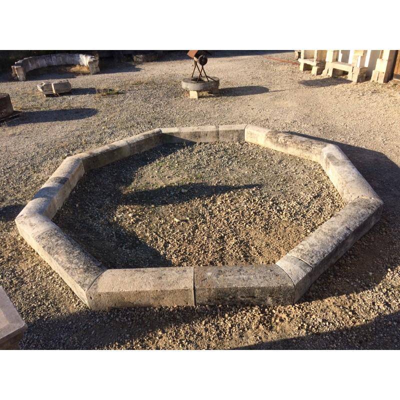 Bassin octogonal labrouche antiquaire de mat riaux - Bassin ancien de jardin orleans ...
