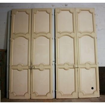 2 paires de double portes