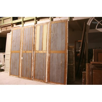 4 portes de placard