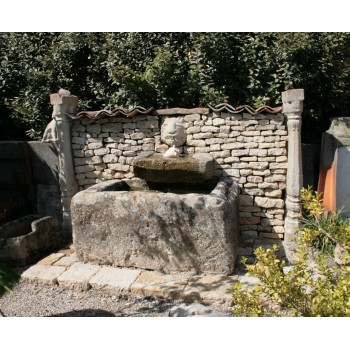 Fontaine au chat