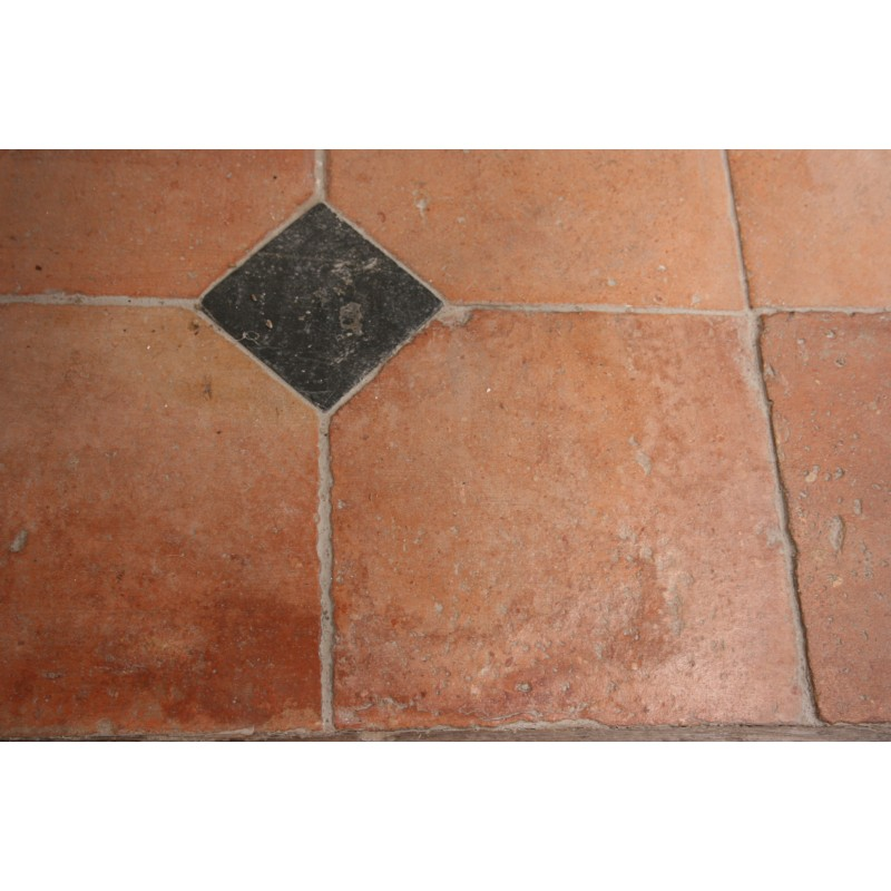 Carrelage ancien 21 x 21 cabochons labrouche for Carrelage ancien