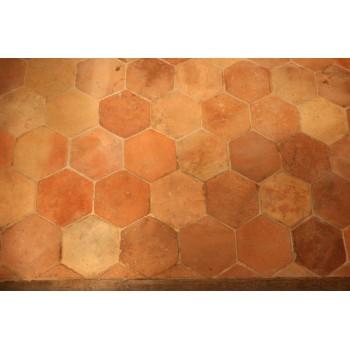 Carrelage hexagonal 16 x 16.