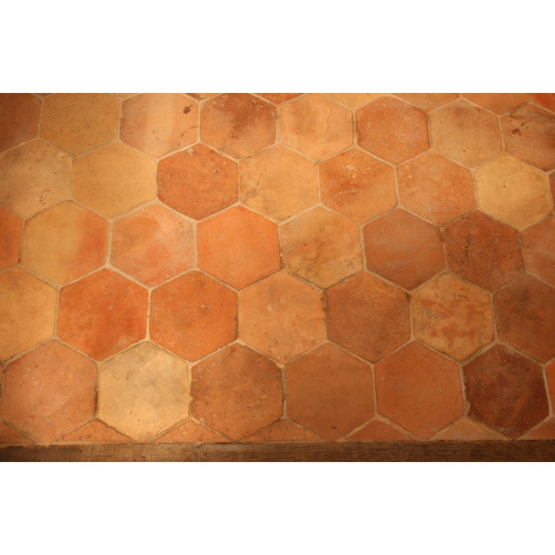 Carrelage hexagonal 16 x 16 labrouche antiquaire de for Carrelage hexagonal couleur