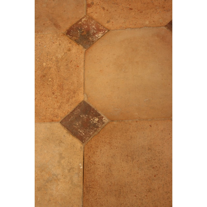 Carrelage ancien 31 x 31 claire cabochons labrouche for Carrelage ancien