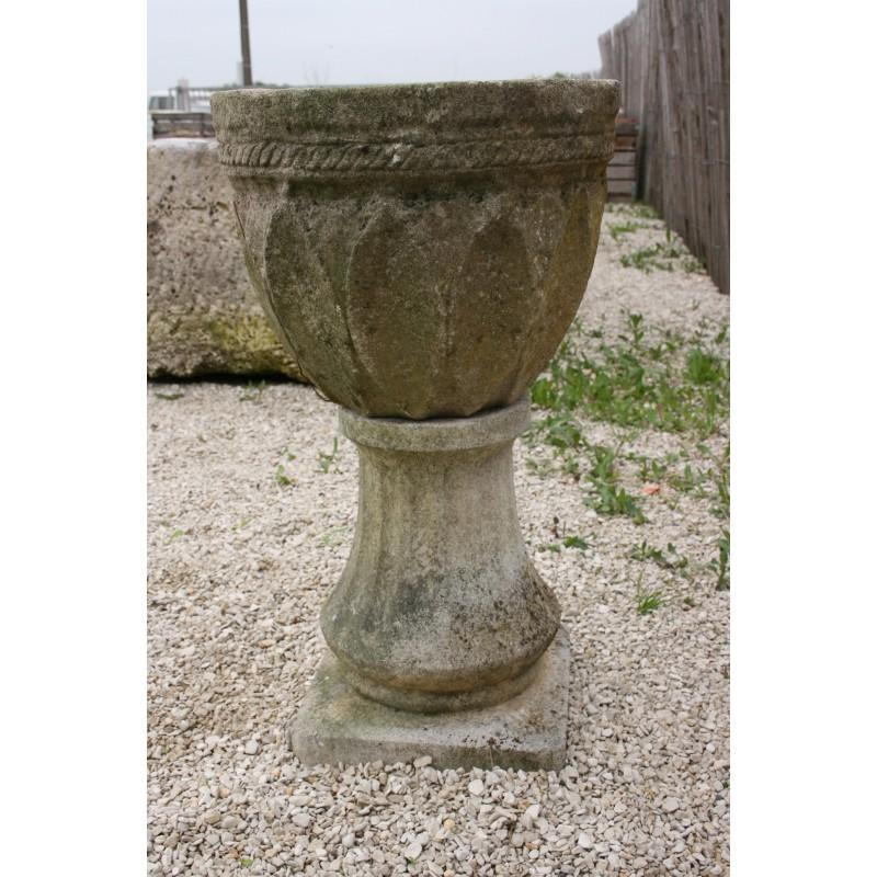 Vasque en pierre reconstituée - Labrouche Antiquaire de matériaux