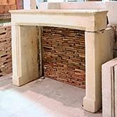 Replicas of original fireplaces