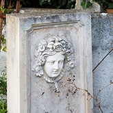 Antique garden elements